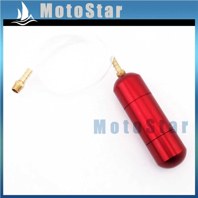 Red Engine Upgrade Boost Power Bottle For 2 Stroke 49cc 50cc 60cc 66cc 80cc Gas Motorized Bicycle Push Bike