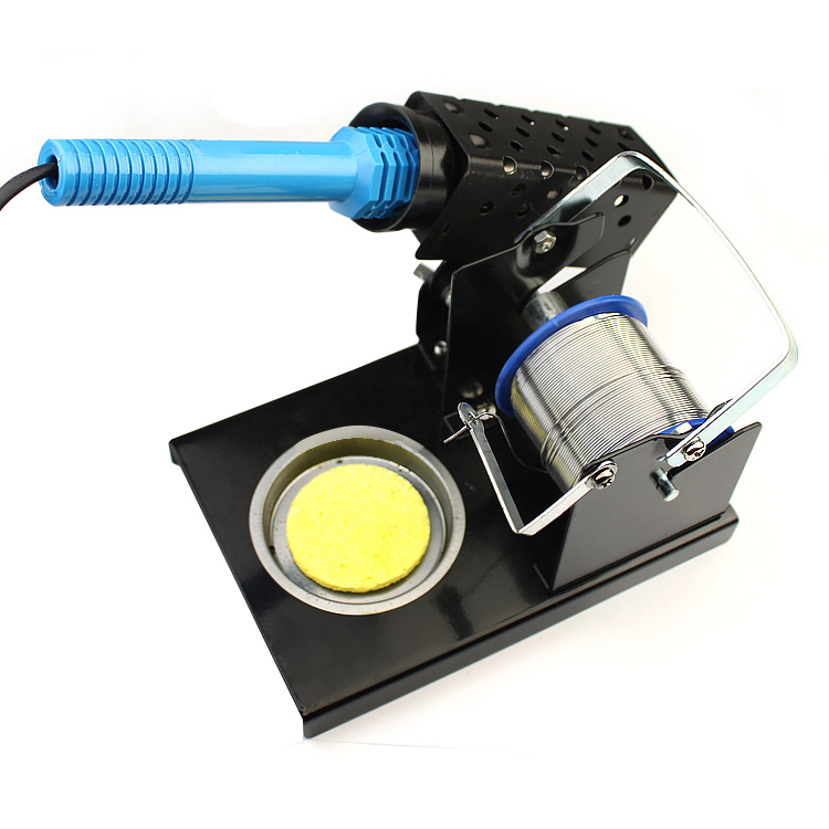 Soldering Solder Iron Stand Holder Station With Caddy Solder Reel And Integrated  660266