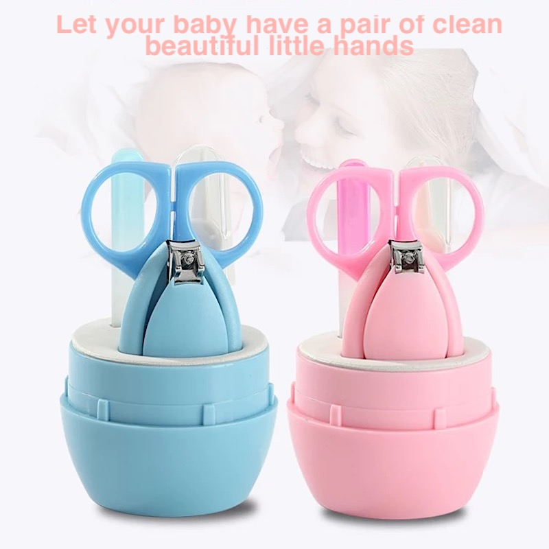 Baby Healthcare Kits Animal Storage Box for Travel Baby Nail Care Set Infant Finger Trimmer Scissors Nail Clippers Cartoon in Nail Care from Mother Kids