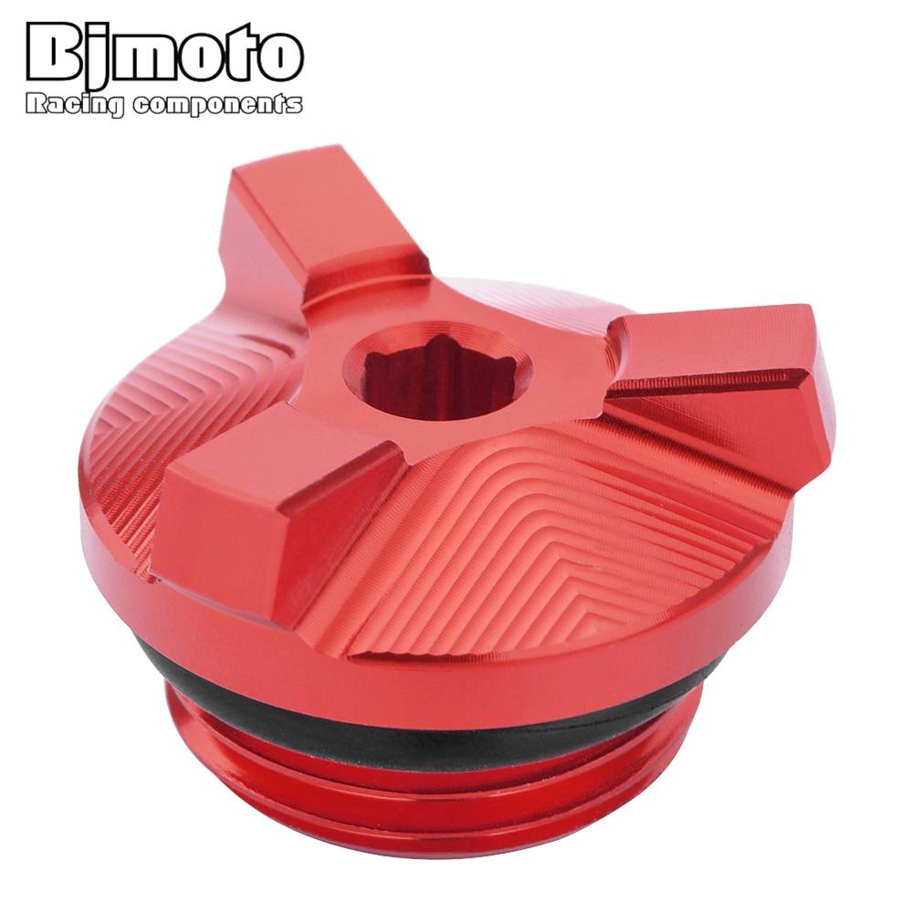 BJMOTO motocicleta M24 * 2 CNC aceite de motor filtro enchufe cubierta tornillo para BMW S1000R S1000RR S1000XR G310GS