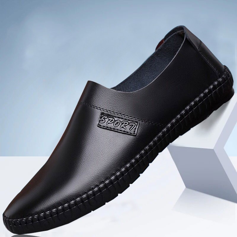 2019 Newset  Men Casual Shoes Fashion Men Shoes Genuine Leather Men Loafers Moccasins Slip On Men's Flats Male Driving Shoes