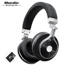 Bluedio T3 Plus drahtlose bluetooth-kopfhörer wireless headset mit mikrofon/micro SD card slot bluetooth headset für musik-handy