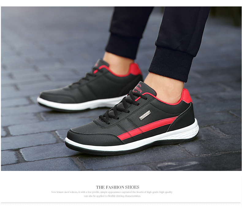 HTB1UP5WXZvrK1Rjy0Feq6ATmVXaA AODLEE Fashion Men Sneakers for Men Casual Shoes Breathable Lace up Mens Casual Shoes Spring Leather Shoes Men chaussure homme