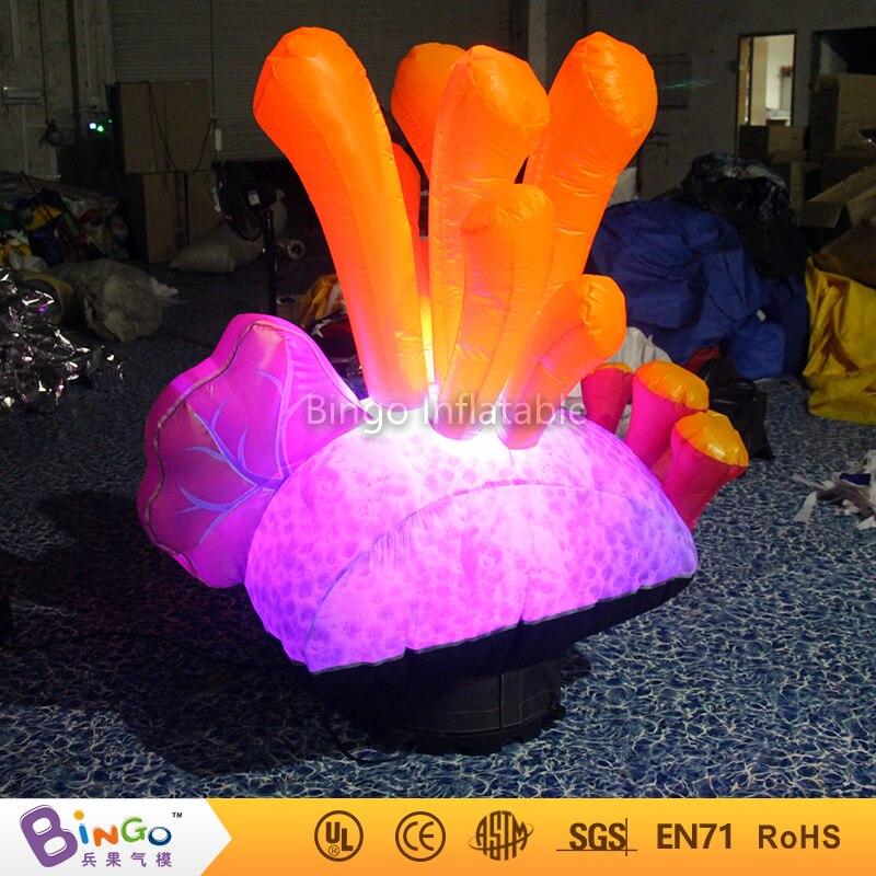 Livraison gratuite Parti Décoration Coloré jouet Gonflable LED Éclairage Algues