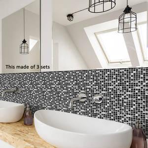 Funlife Tile Sticker Brick-Decor Self-Adhesive Marble Kitchen Morroco Waterproof Bathroom
