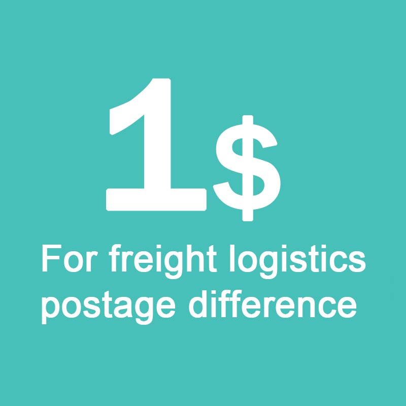 For freight logistics postage difference