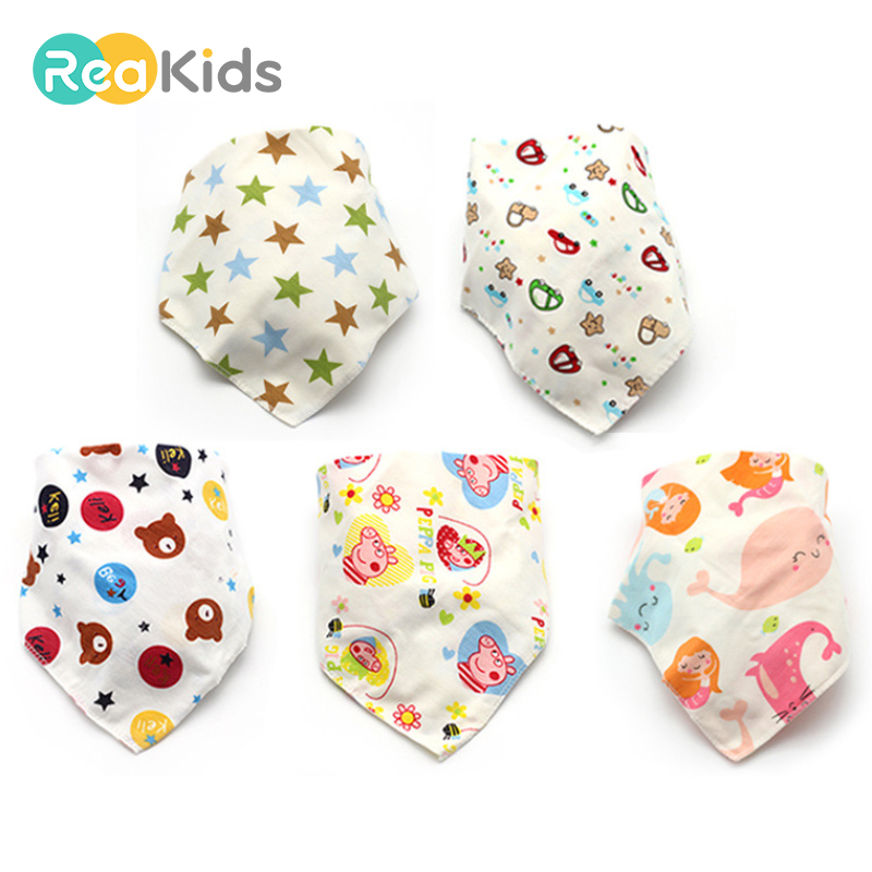 Accessories Bibs & Burp Cloths Generous Egmao Baby 1 Piece Pure Color Cotton Baby Bandana Drool Bibs Absorbent Organic Cotton Cute Baby Gift For Boys & Girls Baby Bibs