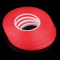 50 м * 10 мм прочная акриловая клейкая прозрачный, двусторонний скотч термостойкий клей лента мульти-функция Лидер продаж
