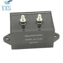 CBB15 1250VDC40uF Гипербарической сварки емкостный 1250 В 40 мкФ MFD-DA01 конденсатор