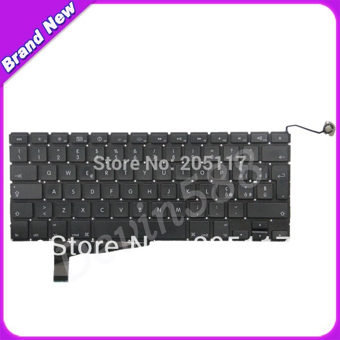 FREE SHIPPING ! Italy keyboard FOR Macbook Pro A1286 2008 YEAR 100pcs lot 13inch 15inch 17inch for macbook pro a1278 a1286 a1297 bottom cover rubber feet