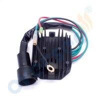 VOLTAGE REGULATOR RECTIFIER for Yamaha 80 100 HP 4 Stroke 67F 81960 11 6 wire Motor