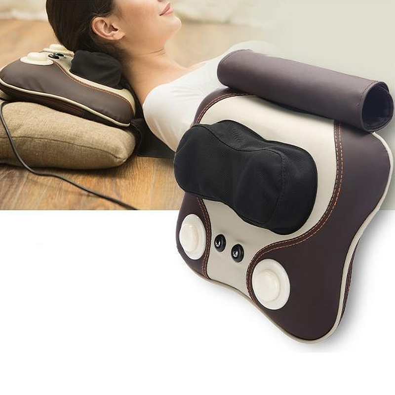 Electric Massage Pillow Full Body Magnetic Therapy Infrared Heating Massager Neck Waist Cervical Shoulder Back Massager CushionElectric Massage Pillow Full Body Magnetic Therapy Infrared Heating Massager Neck Waist Cervical Shoulder Back Massager Cushion