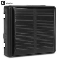 RF V26 Smart Solar GPS Pet Tracker Positioner Waterproof Anti lost Alarm 2G GSM Network with Anti remove Sensor USB Charging