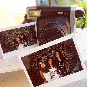 Image 2 - Genuine10.20.40 シーツ富士フイルムインスタックスワイド白エッジ + ワイドレインボーフィルムフジインスタント写真用紙カメラ 300/200/210/100