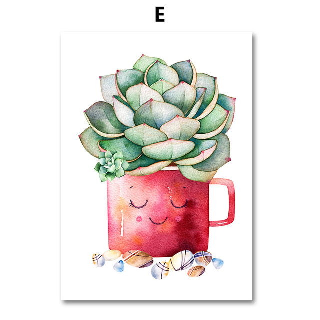 AFFLATUS-Cactus-Succulent-Plant-Canvas-Painting-Nordic-Poster-Wall-Art-Prints-Watercolor-Wall-Pictures-For-Living.jpg_640x640 (4)