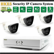 HD 4CH 1080P CCTV Safety System 2MP IP Digital camera Out of doors Video Surveillance Safety Cameras eight channel NVR Package