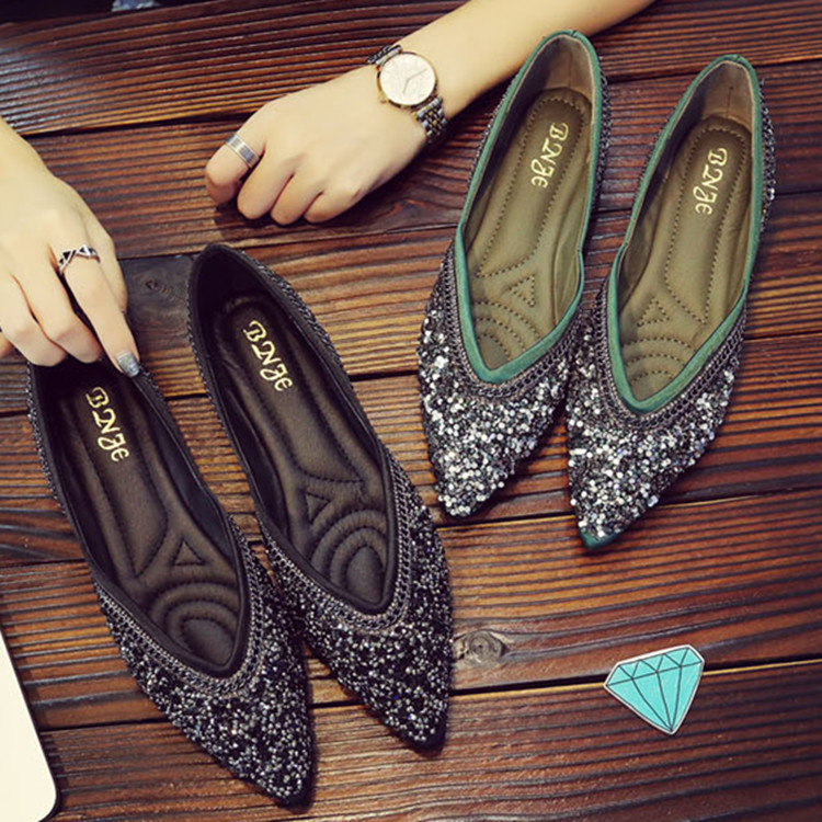 Pkoxizu Planos Blingbling De Mujer Zapatos Mocasines kn0O8wP