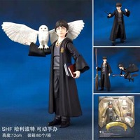 Movie Harri Potter and the Sorcerer's Stone SHF PVC Action Figures movable Collection Model Toys gifts with box