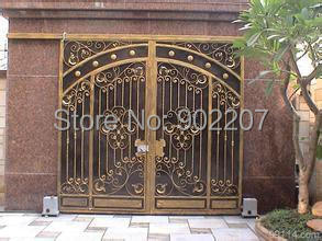 New Design China Wrought Iron Gates Wrought Iron Gate For Home Villas