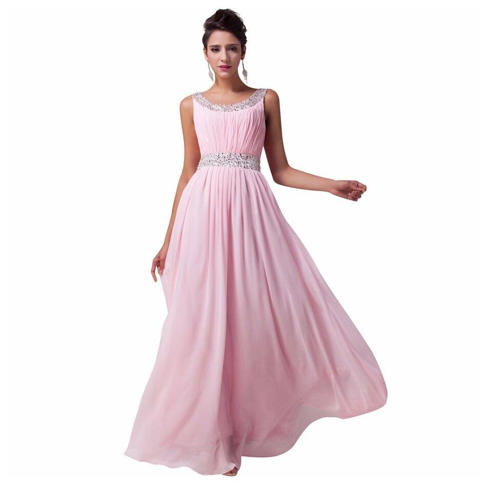 New Bridesmaid Dresses Long Beading Chiffon Bridesmaid Dress Plus Size robe  demoiselle d honneur jurken-in Bridesmaid Dresses from Weddings   Events on  ... b8615074737c