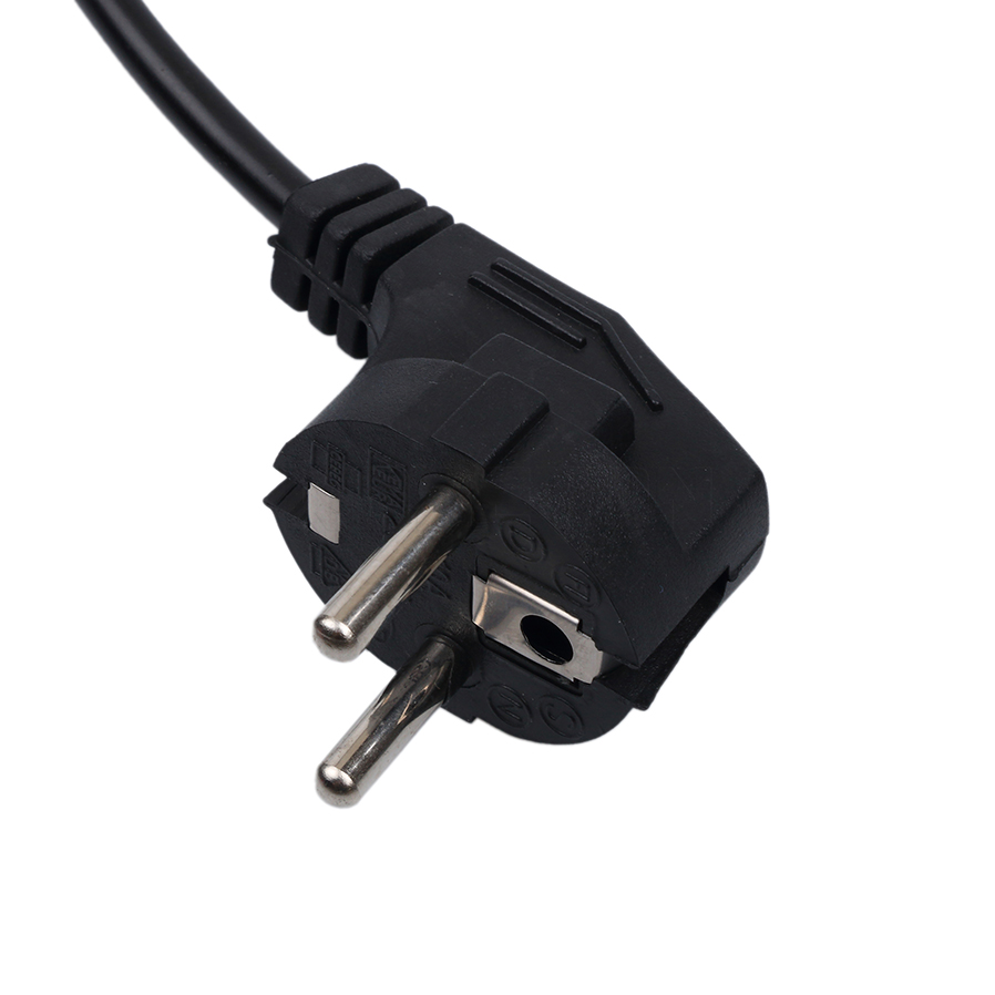 2 Prong Figure 8 3 Prong Mickey Mouse 3 Prong Trapezoid Power Cord for Computers