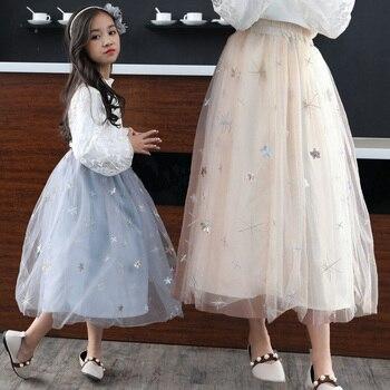 95fc29593 Vestido tutú de fiesta de cumpleaños de boda Vestido de Bautismo con flores  bordadas en 3D para ...