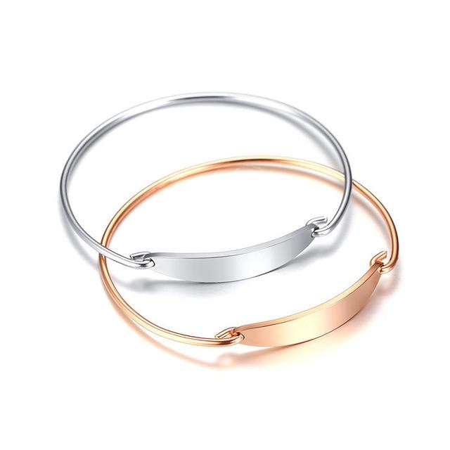 Модные браслеты манжеты розового золота для женщин свадебные
