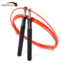 Procircle Crossfit Jump Rope Adjustable Jumping Rope Training Aluminum Skipping Rope Fitness Speed Skip Training, Boxing, MMA(China)