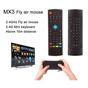 MX3 Fly Air Mouse Remote Control Wireless Mini Keyboard 2.4Ghz For mini PC HTPC Laptop Smart TV kiii z4 m8s t95 Android TV Box