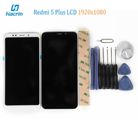 Redmi 5 Plus LCD Display Touch Screen With Tools Glass Panel Digitizer Phone Accessories For Xiaomi