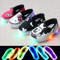 2016 lovely lighted fashion casual baby sneakers new brand new breathable kids shoes cute little girls boys baby shoes