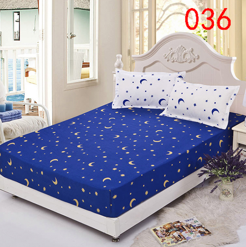 Ordinaire Sun Star Polyester Fitted Sheet Single Double Bed Sheets Fitted Cover Twin  Queen Mattress Cover Bedspread