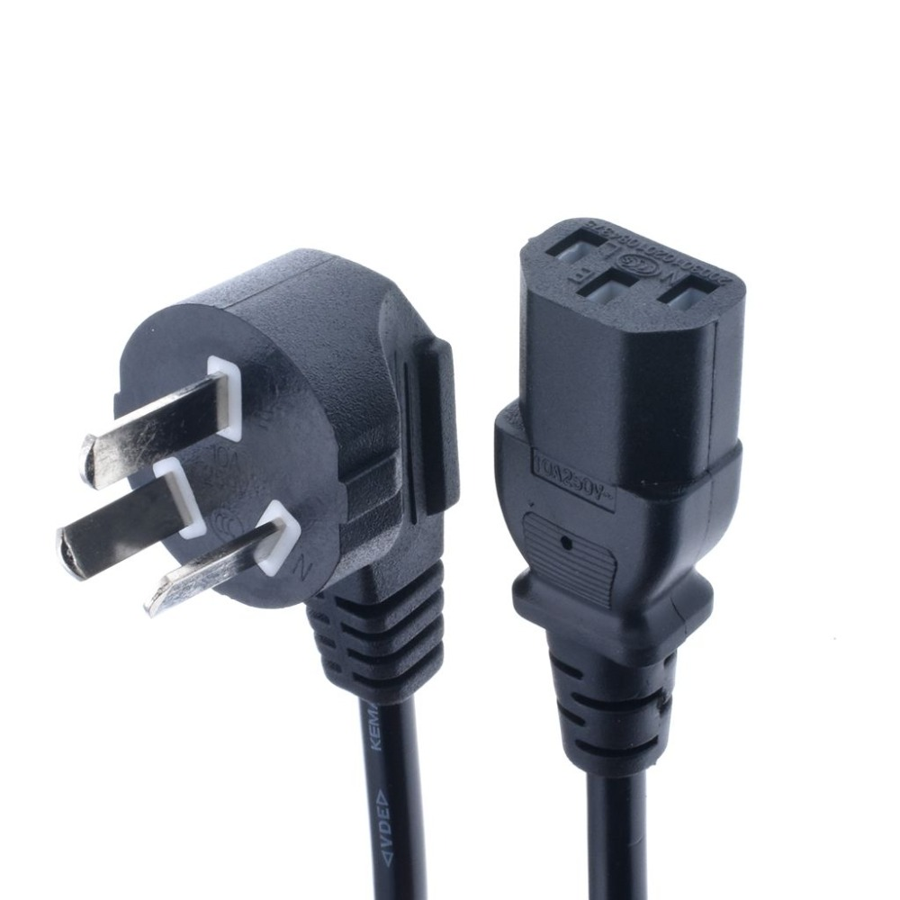 1.5m IEC C13 Kettle to AU <font><b>Plug</b></font> <font><b>3</b></font> <font><b>Pin</b></font> AC Power <font><b>Cable</b></font> Cord Adapter Charger Monitor image