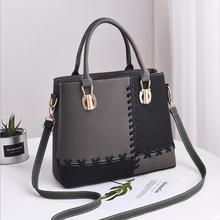 2018 Womens bag new European and American fashion handbag big single shoulder crossbody