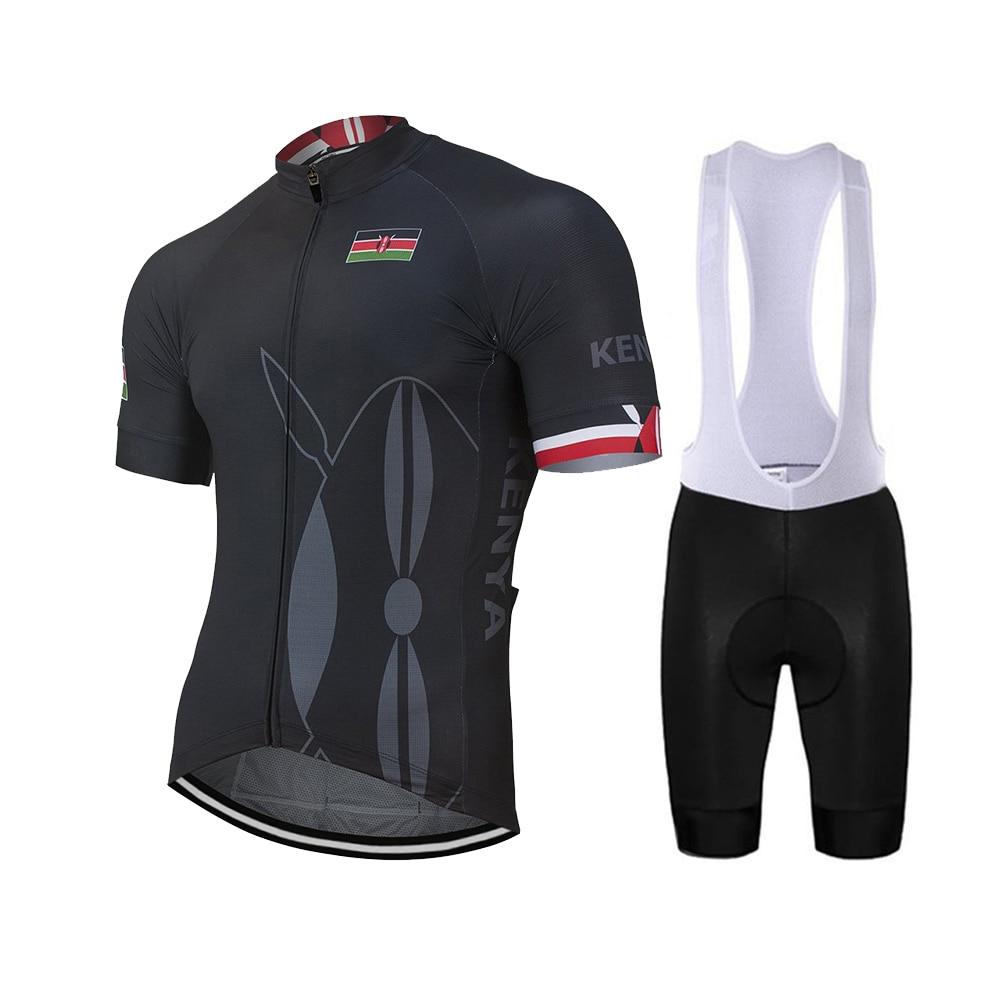 Kenya Short Sleeve Cycling Jersey Free Shipping