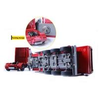 RC грузовик 1:32 самосвал 10 колеса Поворотная Тележка радио Управление автосамосвал автоматический подъемник инженерный Контейнер автомобиль игрушки подарок