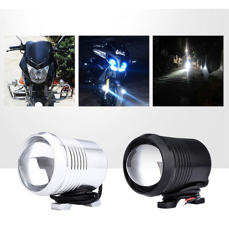 U2 Light Source 30W High Power U2 Laser Gun Motorcycle New Flash LED Refitted Super-bright Spotlight