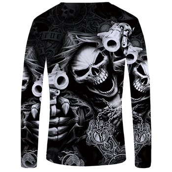 Skull Gun T Shirt