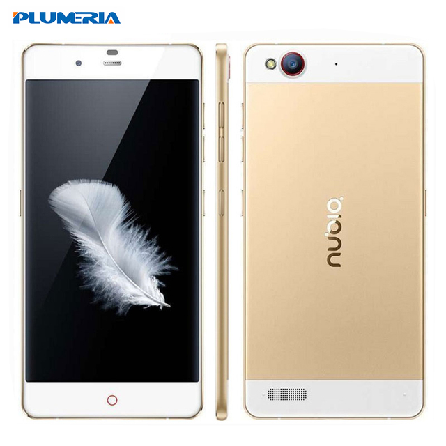 Original ZTE Nubia My Prague NX513 Snapdragon 615 3GB RAM 32GB ROM Octa Core 5.2'' FHD 1920X1080 13MP Android 4G LTE Cell Phone