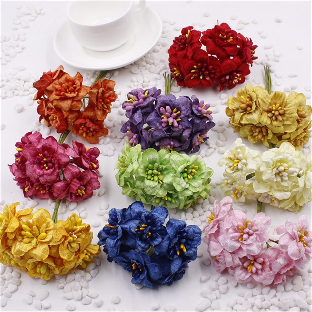 5 pieces of silk artificial flower wedding home chrysanthemum decoration  handmade flower craft flower China. Popular Handmade Decoration Pieces Buy Cheap Handmade Decoration