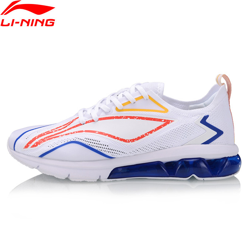 Li-Ning Men BUBBLE ARC Cushion Running Shoes Breathable LiNing li ning ARC Sport Shoes Wearable Sneakers ARHP043 XYP928