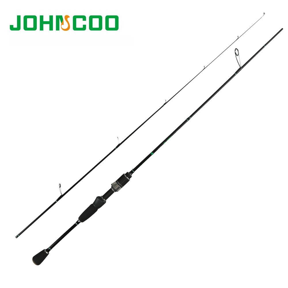 JOHNCOO Glory Fishing Rod 0.6-6g Test Fast Action 1.68m 1.8mUL Spinning Rod F Light Jigging Trout Rod 2.1m 2-10g RockFishing Rod