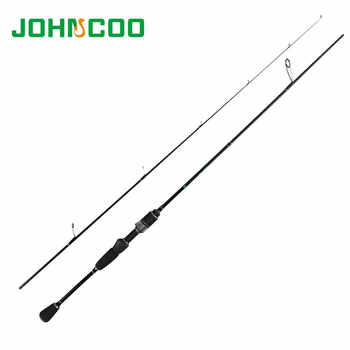 JOHNCOO Glory Fishing Rod 0.6-6g Test Fast Action 1.68m 1.8mUL Spinning Rod f Light Jigging Trout rod 2.1m 2-10g RockFishing Rod - DISCOUNT ITEM  37 OFF Sports & Entertainment