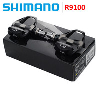 SHIMANO DURA ACE 2017 NEW PD R9100 Self Locking Road Bike Bicycle SPD Pedals With Cleats