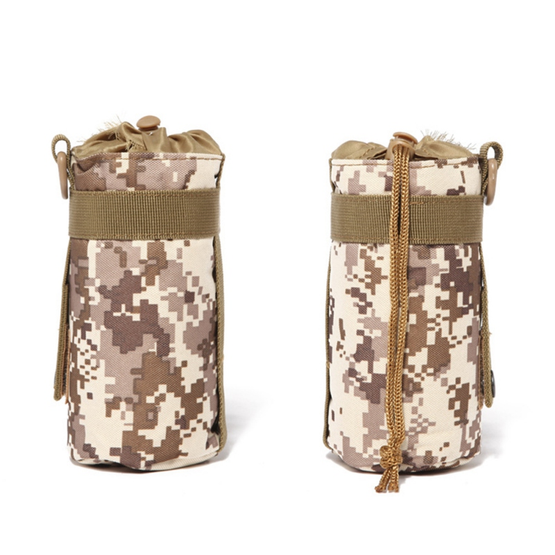 Image 3 - 550ML Water Bottle Pouch Tactical Molle Kettle Pouch Pocket Water Bottle Holder Army Gear Bag 6 Colors new-in Water Bags from Sports & Entertainment