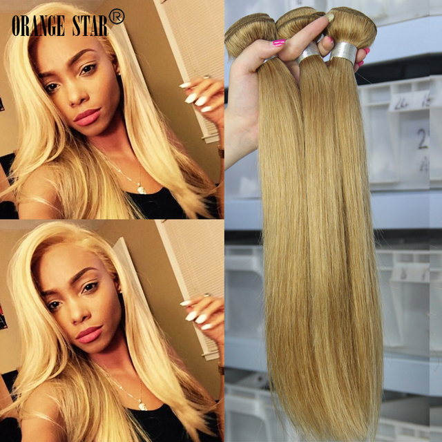 4pcslot 27 Peruvian Honey Blonde Virgin Hair Peruvian Human Hair