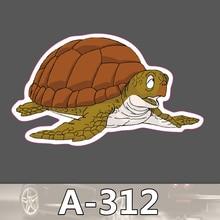 Bevle A-312 Schildkröte Wasserdicht Mode Kühle DIY Aufkleber Für Laptop Gepäck Bike Refit Skateboard Auto Graffiti Cartoon Aufkleber
