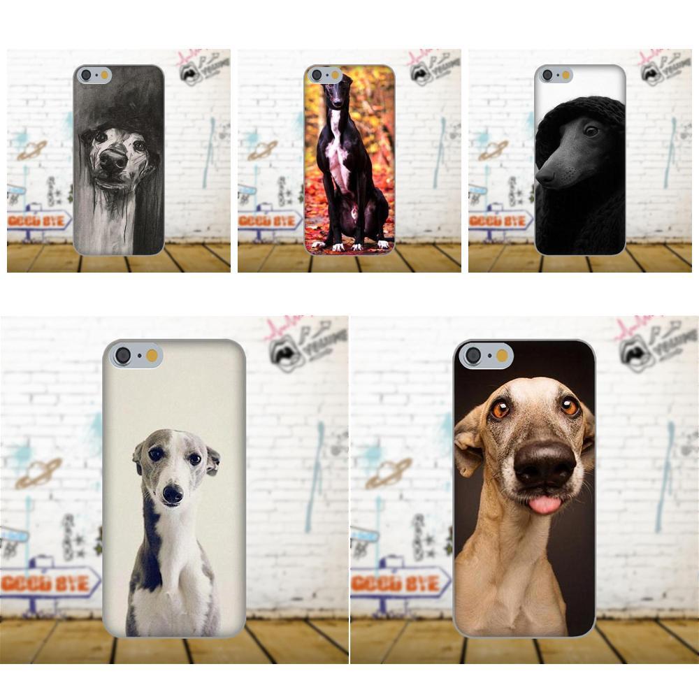 Soft TPU Coque Case Capa For Samsung Galaxy A3 A5 A7 J1 J3 J5 J7 2016 2017 S5 S6 S7 S8 S9 edge Plus Galgo Greyhound Dog Funny