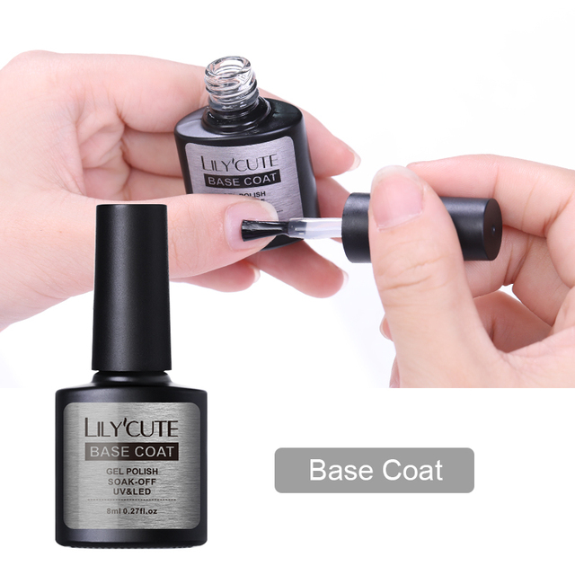 LILYCUTE 1 Bottle Cracking Base Coat