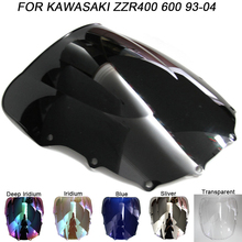 Windshield For Kawasaki ZZR400 ZZR600 ZZR 400 600 1993-2004 Double Bubble Windscreen Wind Deflectors Motorcycle Motorbike for lenovo g50 70 5b20g45461 sr1eb i7 4510u ddr3l aclu1 aclu2 uma nm a272 laptop motherboard mainboard tested